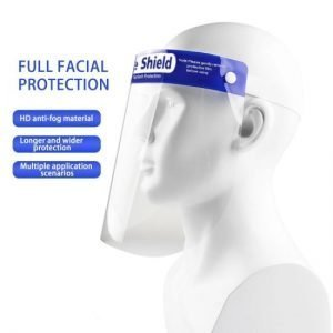Transparent Splash-proof Face Protective Shield