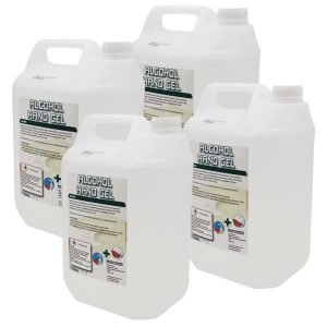 Hand Sanitizer GEL – 5 litre with 70% Plus Alcohol