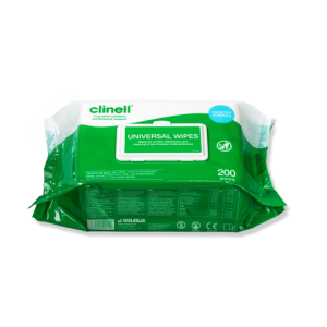 Clinell Universal Wipes – Pack of 100 Wipes